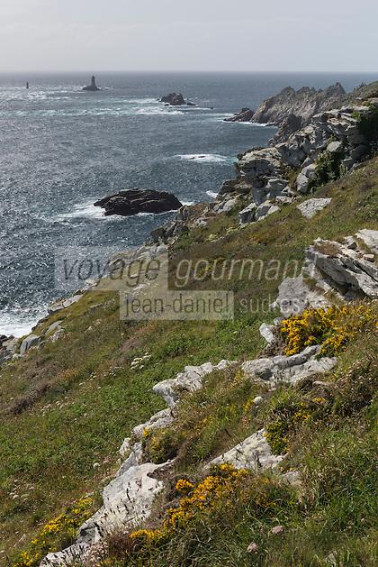 France, Bretagne, (29), Finistère, Cap Sizun, Plogoff: Pointe du Raz //  France, Brittany, Car Sizun, Plogoff: The Pointe du Raz