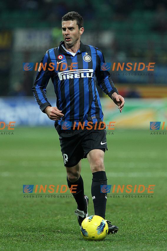 """Thiago Motta Inter.Milano 07/01/2012 Stadio """"S.Siro"""".Football / Calcio Serie A 2011/2012.Inter vs Parma.Foto Insidefoto Paolo Nucci"""