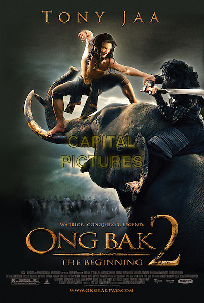 POSTER ART.in Ong bak 2 (Ong-Bak: The Beginning).*Filmstill - Editorial Use Only*.CAP/FB.Supplied by Capital Pictures.