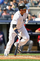 09/19/11 Bronx, NY: New York Yankees right fielder Nick Swisher #33 during an MLB game played at Yankee Stadium between the Minnesota Twins and the New York Yankees. The Yankees defeated the Twins 6-4.