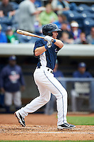 West Michigan Whitecaps outfielder Michael Gerber (13) at bat during a game against the Cedar Rapids Kernels on June 7, 2015 at Fifth Third Ballpark in Comstock Park, Michigan.  West Michigan defeated Cedar Rapids 6-2.  (Mike Janes/Four Seam Images)