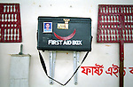 Safety procedures and equipment in place in the Banga Garment Ltd supplier of H&M, Dhaka