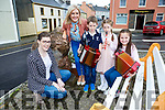 Launch the Con Curtin festival in Brosna on Friday were l-r: Mairead Corridan Chairperson, Mairead lane, Anna Cox, Sadbh Cahill and Darragh Cahill