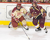 Paul Stastny, JT Dahlinger - The Ferris State Bulldogs defeated the University of Denver Pioneers 3-2 in the Denver Cup consolation game on Saturday, December 31, 2005, at Magness Arena in Denver, Colorado.