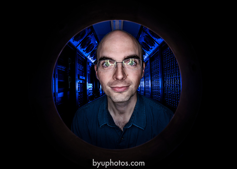 1706-52 0040<br /> <br /> 1706-52 Supercomputing Staff<br /> <br /> June 22, 2017<br /> <br /> Photography by Nate Edwards/BYU<br /> <br /> © BYU PHOTO 2017<br /> All Rights Reserved<br /> photo@byu.edu  (801)422-7322