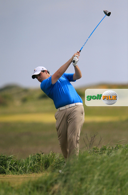 Alan Lowry (Esker Hills)<br /> during the 2nd round of the East of Ireland Amateur Open Championship 2013 Co Louth Golf club 2/6/13<br /> Picture:  Thos Caffrey / www.golffile.ie