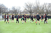 D.C. United Training, January 24, 2017