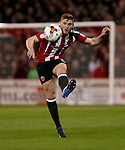 Jack O'Connell of Sheffield United during the English League One match at the Bramall Lane Stadium, Sheffield. Picture date: April 5th, 2017. Pic credit should read: Jamie Tyerman/Sportimage