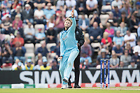 Joe Root (England) in action during England vs West Indies, ICC World Cup Cricket at the Hampshire Bowl on 14th June 2019