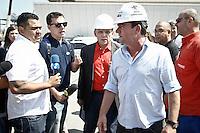 SÃO PAULO,SP,11.04.2014 - VISTORIA ARENA CORINTHIANS - Andres Sanches durante vistoria realizada na manhã de hoje nas obras da Arena Corithinas.(Foto Ale Vianna/Brazil Photo Press).