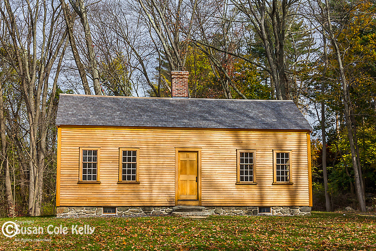 The Caesar Robbins House in Minuteman National Park in Concord, Massachusetts, USA