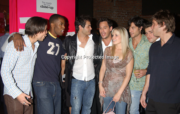 ..As The World Turns and Guiding Light group shot..at the Self Magazine party for the Young Survival Coalition's 5th Anniversary  on October 9, 2003 at ..Angel Orensanz Foundation...Photo By Robin Platzer, Twin Images