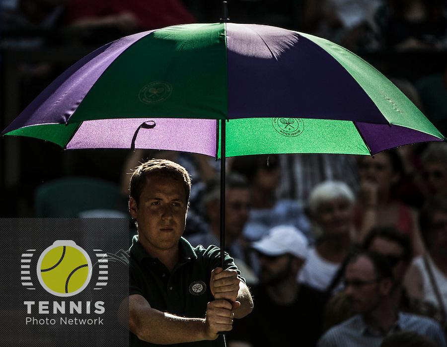 AMBIENCE <br /> The Championships Wimbledon 2014 - The All England Lawn Tennis Club -  London - UK -  ATP - ITF - WTA-2014  - Grand Slam - Great Britain -  6th July 2014. <br /> <br /> &copy; Tennis Photo Network