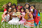 International Day at Presentation Primary School, Tralee on Friday. Pictured are pupils representing Bangladesh, Pakistan, China and Indonesia. Included in the photo are: Fajir Habib, Unizza Ali, Zara Riaz, Irza Munir, Fatima Khan, Orna Costello, Sonia Akther, Emma Flanagan and Sumaiya Islam.