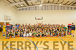 150 kids were stars at  the Kieran Donaghy  be a star  basketball camp at John Mitchells complex on Friday