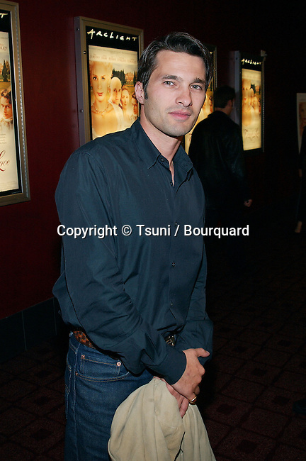 Olivier Martinez (Mira's boyfriend) arriving at the premiere of Triumph Of Love at the new ArcLight Hollywood, Cinerama Dome Theatre in Los Angeles. April 11, 2002.           -            MartinezOlivier01.jpg