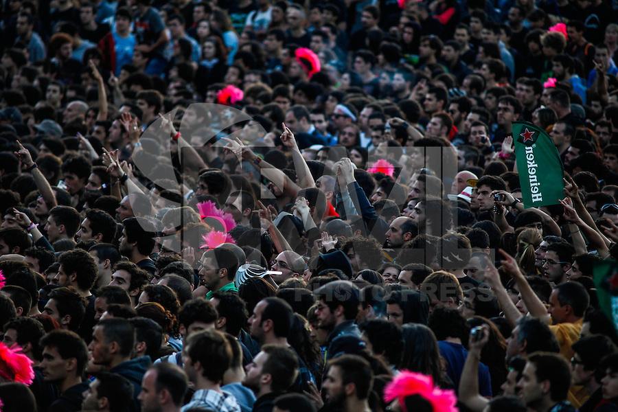 LISBOA, PORTUGAL, 25 DE MAIO 2012 - ROCK IN RIO LISBOA - Primeiro dia do Rock In Rio Lisboa  na tarde dessa sexta-feira (25) na Cidade do Rock em Lisboa,  Portugal. FOTO: WILLIAM VOLCOV / BRAZIL PHOTO PRESS