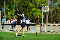 Atthaya Thitikul (THA) on the 10th tee during the second round of the Augusta National Womans Amateur 2019, Champions Retreat, Augusta, Georgia, USA. 04/04/2019.<br /> Picture Fran Caffrey / Golffile.ie<br /> <br /> All photo usage must carry mandatory copyright credit (&copy; Golffile | Fran Caffrey)