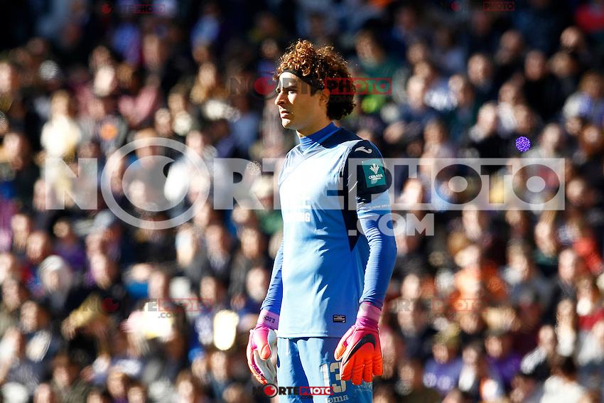 Granada CF's Guillermo Ochoa during La Liga match. January 7,2016. (ALTERPHOTOS/Acero) . NORTEPHOTO.COM