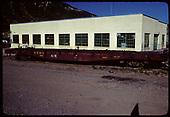 Flat car 6509 A-X<br /> D&amp;RGW  Durango, CO