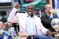 May 23, 2012  Donald Driver of Dancing with the Stars at Good Morning America at Times Square in New York City. Credit: Roger Wong/MediaPunch Inc.