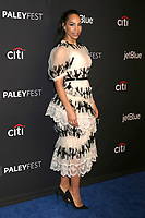 "LOS ANGELES - MAR 18:  Amanda Brugel at the 2018 PaleyFest Los Angeles - ""The Handmaid's Tale"" at Dolby Theater on March 18, 2018 in Los Angeles, CA"