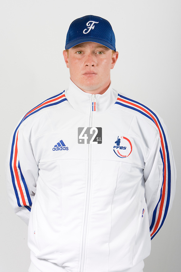 15 Aug 2007: David Gauthier - Team France Baseball