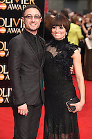 Vincent Simone and Flavia Cacace arrives for the Olivier Awards 2015 at the Royal Opera House Covent Garden, London. 12/04/2015 Picture by: Steve Vas / Featureflash