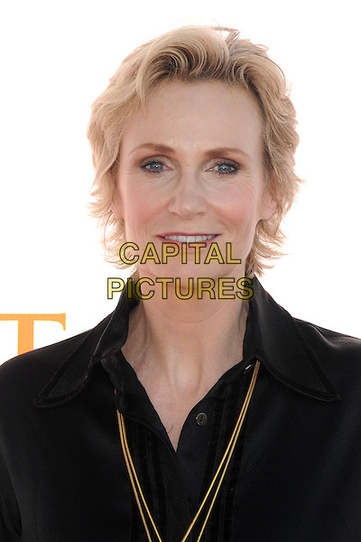Jane Lynch<br /> 3rd Annual Dizzy Feet &quot;Celebration of Dance&quot; Gala held at the Dorothy Chandler Pavilion,  Los Angeles, California, USA, 27th July 2013.<br /> portrait headshot black shirt gold necklace  <br /> CAP/ADM/BP<br /> &copy;Byron Purvis/AdMedia/Capital Pictures