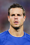 Chelsea Defender Cesar Azpilicueta during the International Champions Cup match between Chelsea FC and FC Bayern Munich at National Stadium on July 25, 2017 in Singapore. Photo by Marcio Rodrigo Machado / Power Sport Images