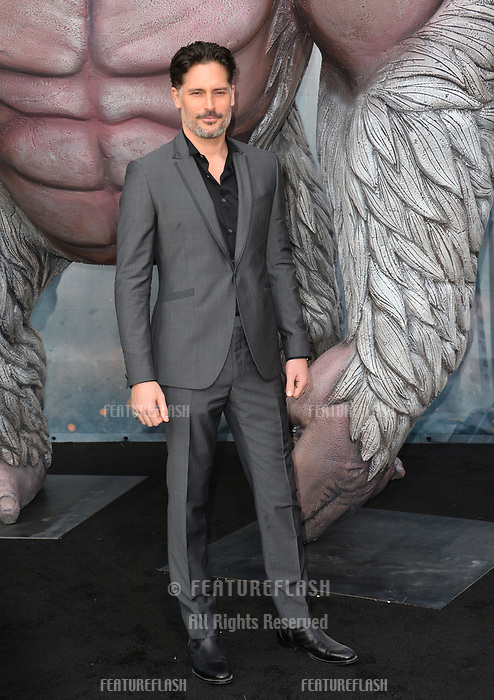 Joe Manganiello at the premiere for &quot;Rampage&quot; at the Microsoft Theatre, Los Angeles, USA 04 April 2018<br /> Picture: Paul Smith/Featureflash/SilverHub 0208 004 5359 sales@silverhubmedia.com