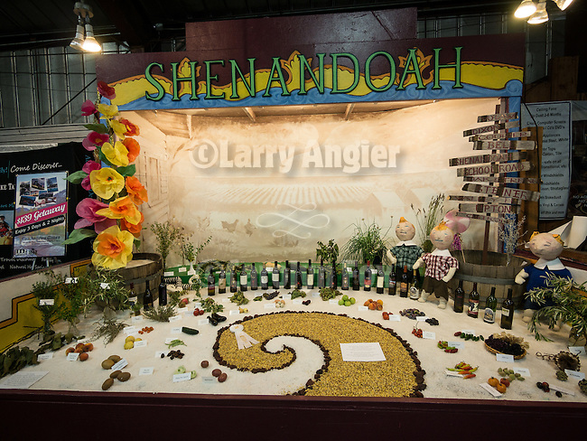 4th day of the 76th Amador County Fair, Plymouth, Calif.<br /> <br /> Art and photography show and winners