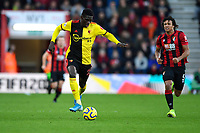 Ismaïla Sarr of Watford takes the ball forward during AFC Bournemouth vs Watford, Premier League Football at the Vitality Stadium on 12th January 2020