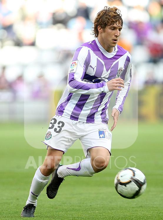 Real Valladolid's Keko during La Liga match. May 1, 2010. (ALTERPHOTOS/Acero)