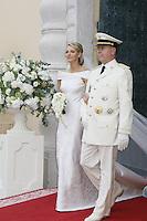 Charlène Wittstock & Prince Albert II - Wedding