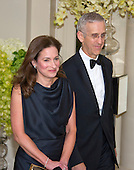 Todd Stern, Special Envoy for Climate Change, U.S. Department of State and Jennifer Klein arrive for the State Dinner in honor of Prime Minister Trudeau and Mrs. Sophie Gr&eacute;goire Trudeau of Canada at the White House in Washington, DC on Thursday, March 10, 2016.<br /> Credit: Ron Sachs / Pool via CNP