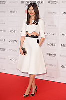 Gemma Chan arriving for the Moet British Independent Film Awards 2014, London. 07/12/2014 Picture by: Alexandra Glen / Featureflash