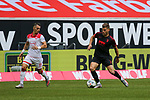 Duesseldorfs Erik Thommy #15, Augsburgs Florian Niederlechner #7<br /><br />1. Fussball Bundesliga 33. Spieltag - Fortuna Duesseldorf vs. FC Augsburg 20.06.2020<br /><br /><br /><br />(Foto: Sebastian Sendlak / wave.inc/POOL/ via Meuter/Nordphoto)<br /><br />DFL regulations prohibit any use of photographs as image sequences and/or quasi-videos.<br /><br />EDITORIAL USE ONLY<br /><br />National and international News-Agencys OUT.