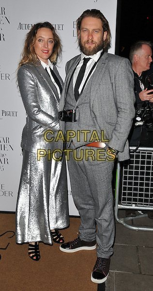 Alice Temperley &amp; Greg Williams attend the Harper's Bazaar Women of the Year Awards 2015, Claridge's Hotel, Brook Street, London, England, UK, on Tuesday 03 November 2015. <br /> CAP/CAN<br /> &copy;CAN/Capital Pictures