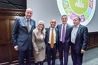 (Photo by Don Milici, Freelance)<br /> Occidental College, Los Angeles, California<br /> Kicking off UN Week and the Global Ambition – Local Action: GA–L.A. Initiative, Los Angeles Mayor Eric Garcetti delivers the Plenary Keynote in Choi Auditorium, Monday, February 5, 2018.<br /> <br /> Sponsor: McKinnon Center for Global Affairs, John Parke Young Initiative on the Global Economy, Diplomacy & World Affairs<br /> <br /> (Photo by Don Milici, Freelance)