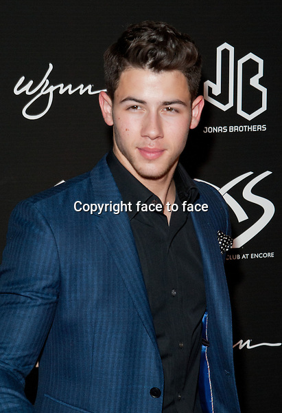 LAS VEGAS, NV - SEPTEMBER 15: Nick Jonas pictured at the 21st birthday celebration for Nick Jonas at XS in Las Vegas, Nevada. September 15, 2013. Credit Kabik / Starlitepics/MediaPunch Inc.<br />