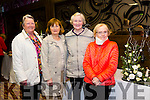 Tralee Flower Club Christmas Gala Night at the Grand Hotel on Monday Pictured l-r  Rona Giles, Irene O'Donnell, Eileen Wolfe and Joan Fitzgerald