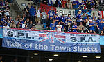 Rangers fans vent their anger on the SPL and SFA