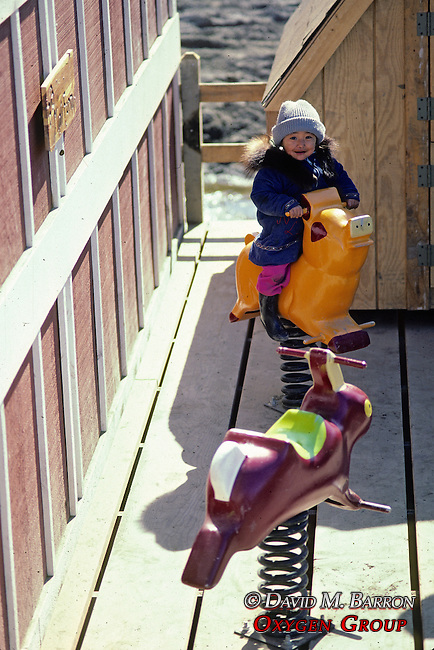 Little Girl At Burger Barn