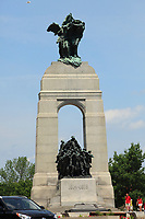 Ottawa (ON) CANADA - June 17 2012 - Canada's capital Ottawa-  War Monument