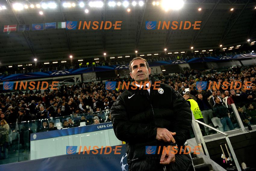 Angelo Alessio Juventus.Calcio Juventus Nordsjaelland.Champions League - Torino 07/11/2012 Juventus Stadium .Football Calcio 2012/2013.Foto Federico Tardito Insidefoto.