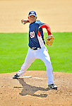 15 March 2008: Washington Nationals' pitcher Saul Rivera on the mound during a Spring Training game against the Los Angeles Dodgers at Space Coast Stadium, in Viera, Florida...Mandatory Photo Credit: Ed Wolfstein Photo