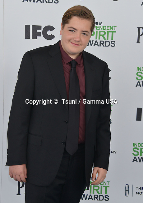 Michael Gandolfini  at the Film Independent Spirit Awards 2014on the Santa Monica Beach In Los Angeles.