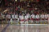 - The Boston College Eagles defeated the visiting Merrimack College Warriors 3-2 on Friday, October 29, 2010, at Conte Forum in Chestnut Hill, Massachusetts.