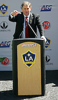 LA Galaxy Owner Timothy Leiweke during the David Beckham, LA Galaxy press conference at the Home Depot Center in Carson, California, Friday, July 13, 2007.